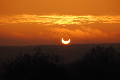 Geoff's Sun Eclipse at Bouesse, France..JPG